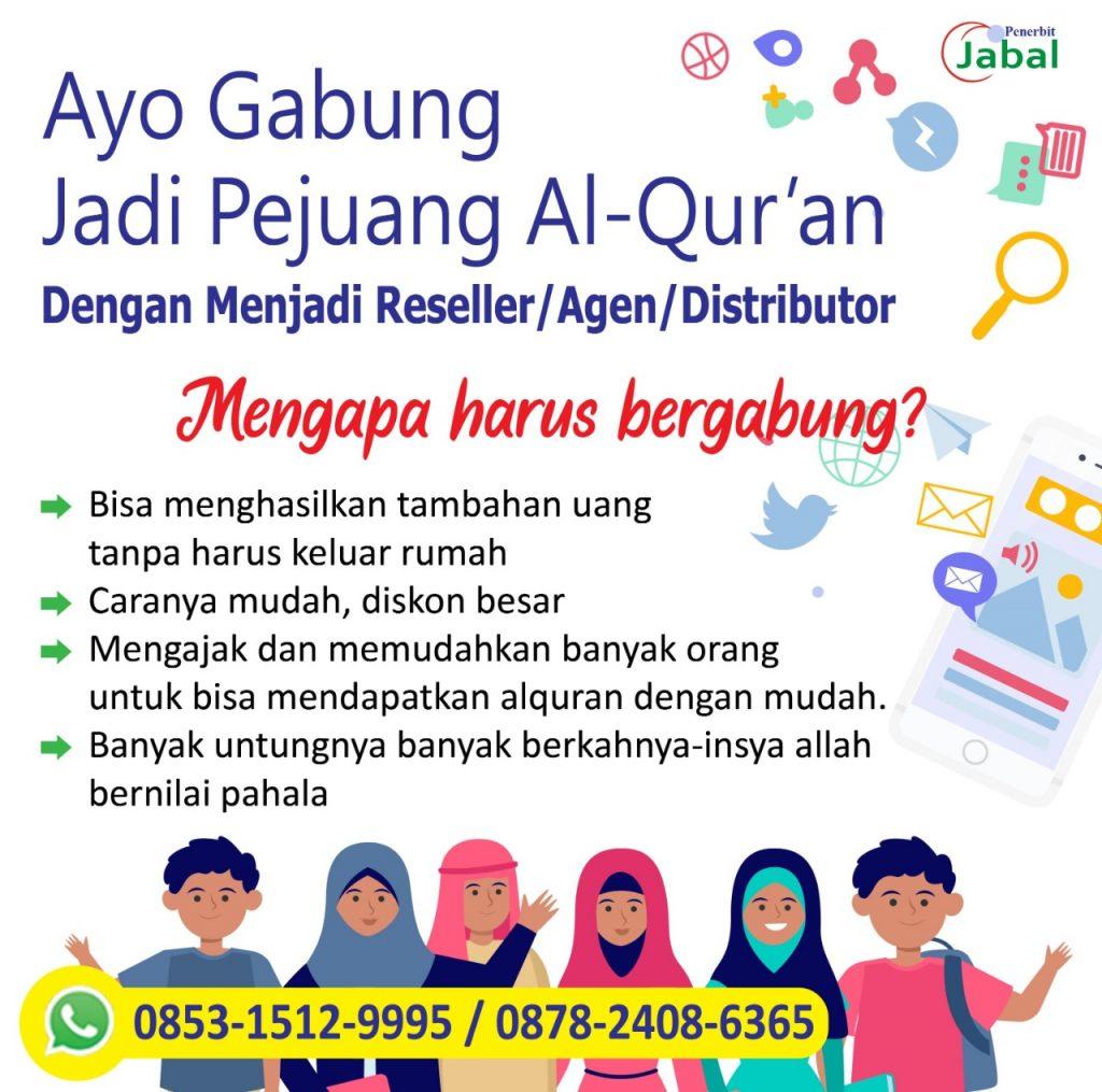 ketentuan agen reseller al quran dan buku islam penerbit jabal