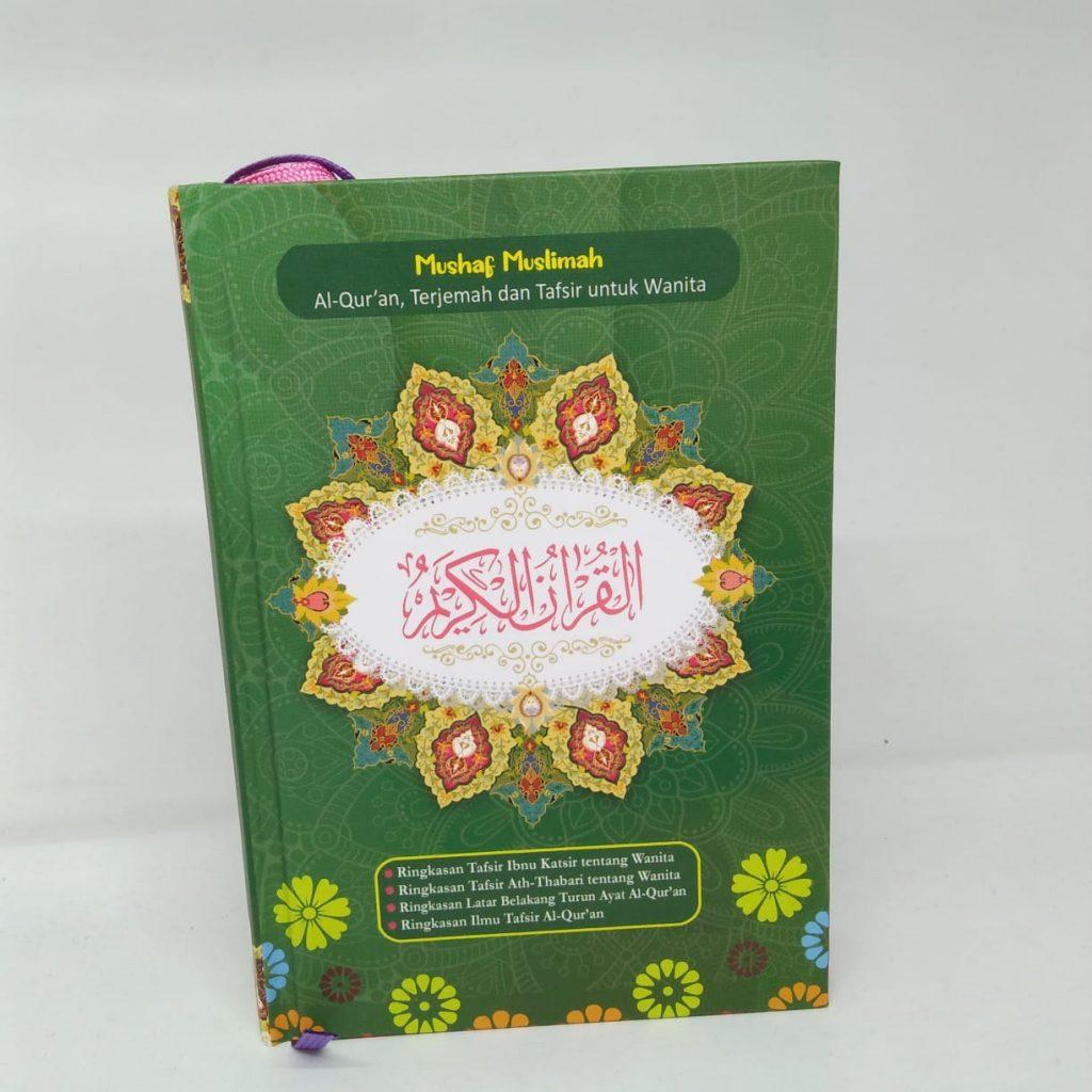 Al quran muslimah hard cover a6