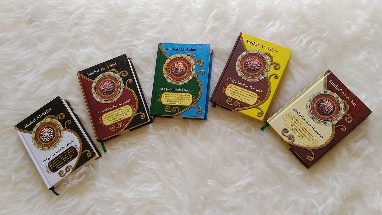 Al Quran Mushaf Al Azhar Hard Cover