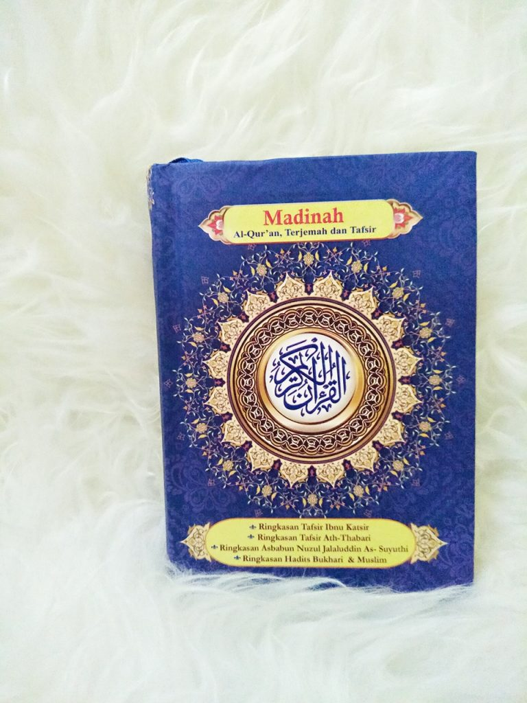 al quran madinah a6 hard cover