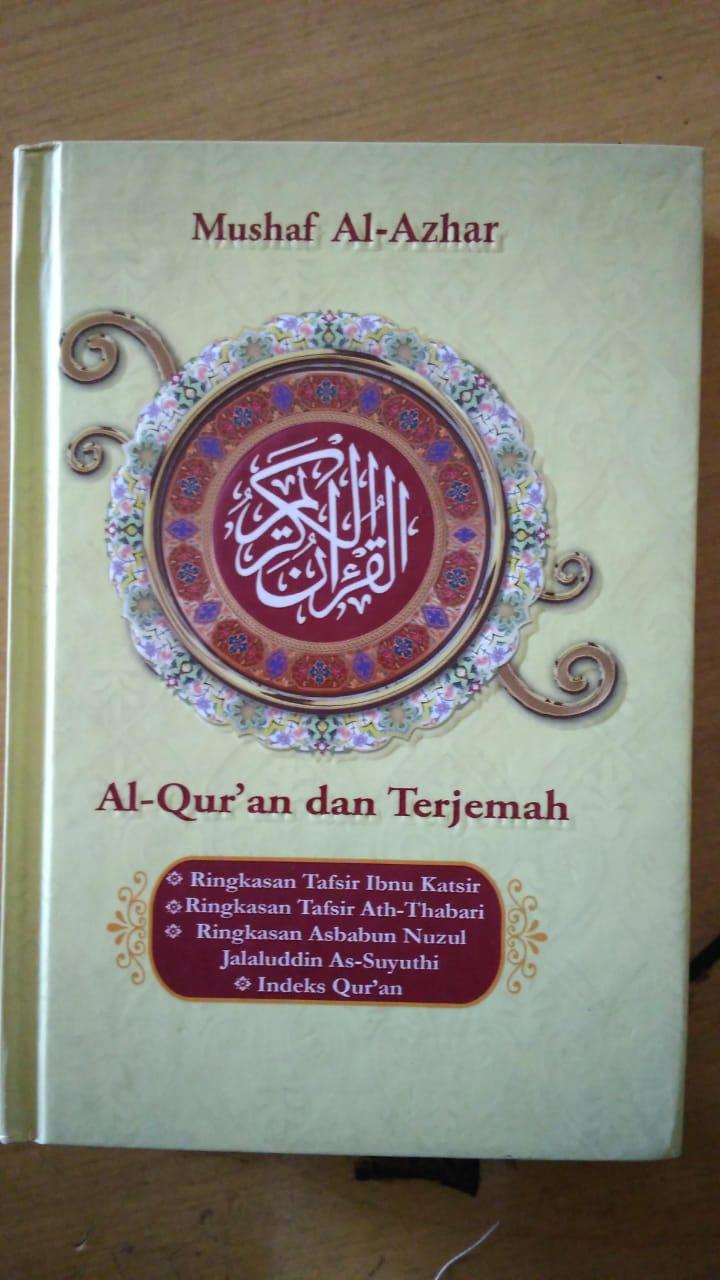 Al Quran Mushaf Al Azhar Hard Cover a6